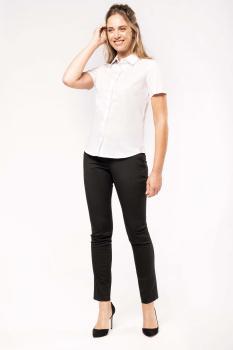 Dámská košile oxford s krátkým rukávem