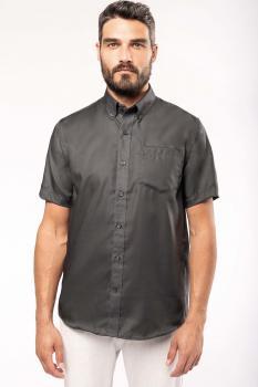 Pánská košile krátký rukáv v nežehlivé úpravì