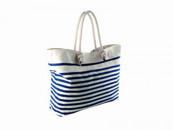 Pruhovaná plážová taška Sailor Bag