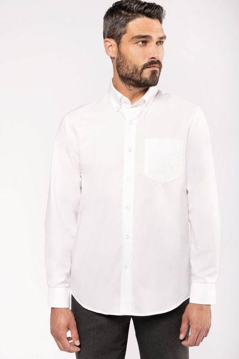 Pánská košile oxford s dlouhým rukávem - zvìtšit obrázek