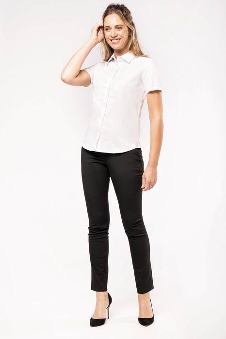 Dámská košile oxford s krátkým rukávem - zvìtšit obrázek