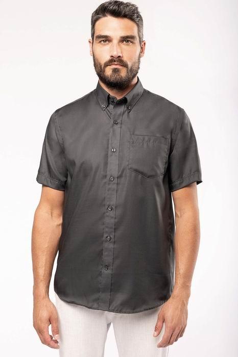 Pánská košile krátký rukáv v nežehlivé úpravì - zvìtšit obrázek