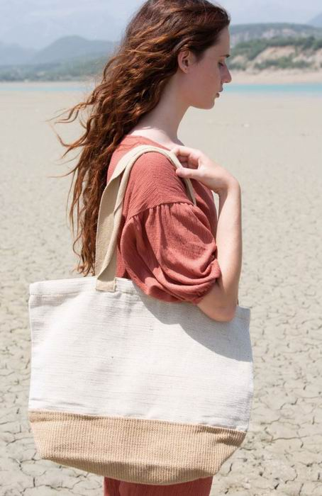 Rustikální nákupní taška - zvìtšit obrázek