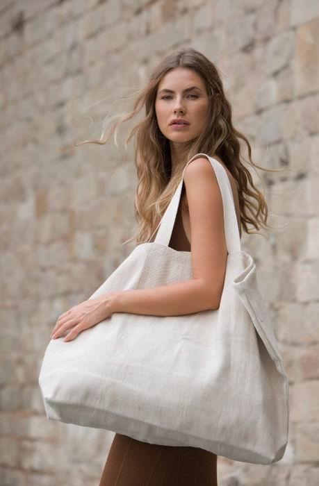 Velká rustikální nákupní taška - zvìtšit obrázek