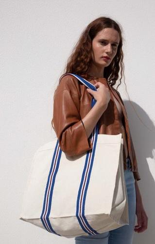 Módní nákupní taška z organické bavlny - zvìtšit obrázek