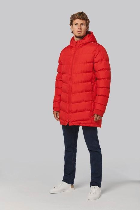 Pánská sportovní zimní bunda s kapucí - zvìtšit obrázek