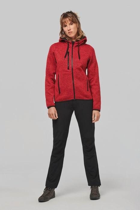 Dámská mikina s kapucí Ladies' heather hoodie - zvìtšit obrázek