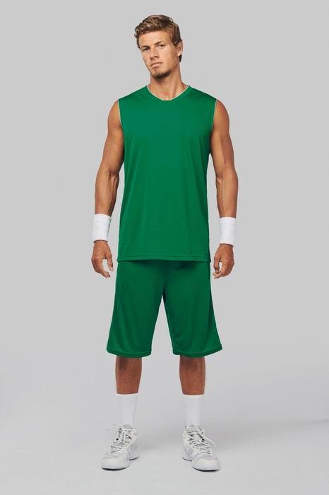 Basketbalový dres - trièko bez rukávù do V - zvìtšit obrázek