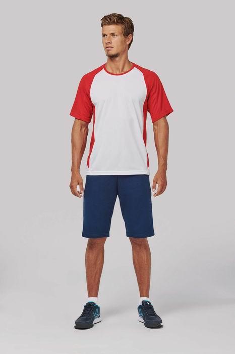 Pánské dvoubarevné sportovní trièko - zvìtšit obrázek