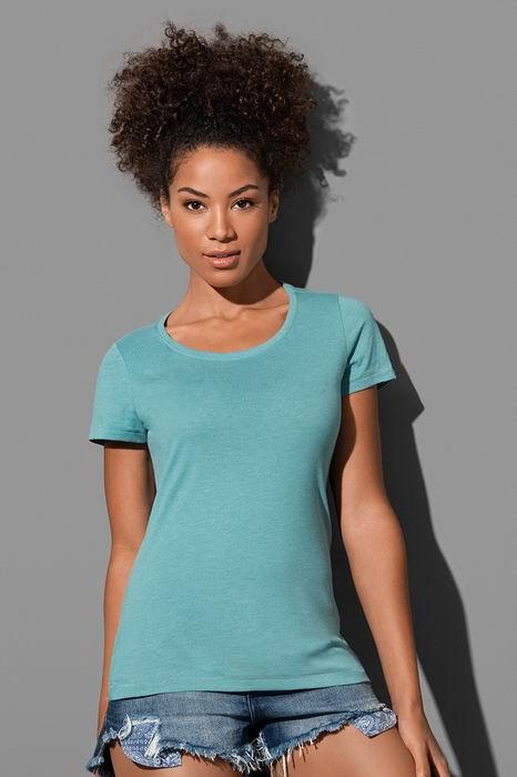"""Dámské trièko LISA melír do """"U"""" - Výprodej - zvìtšit obrázek"""